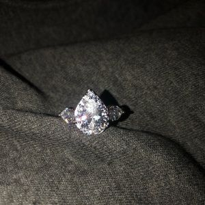 A beautiful engagement ring